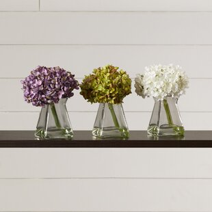 Flower Floral Arrangements and Centerpieces in Vase (Set of 3)