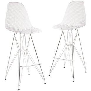 Mcmasters 30.25 Bar Stool (Set of 2) Latitude Run