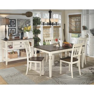 Leamont 5 Piece Solid Wood Dining Set by Rosecliff Heights No Copoun