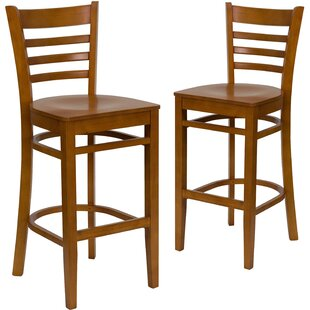 Loughran 30 Bar Stool (Set of 2) Red Barrel Studio