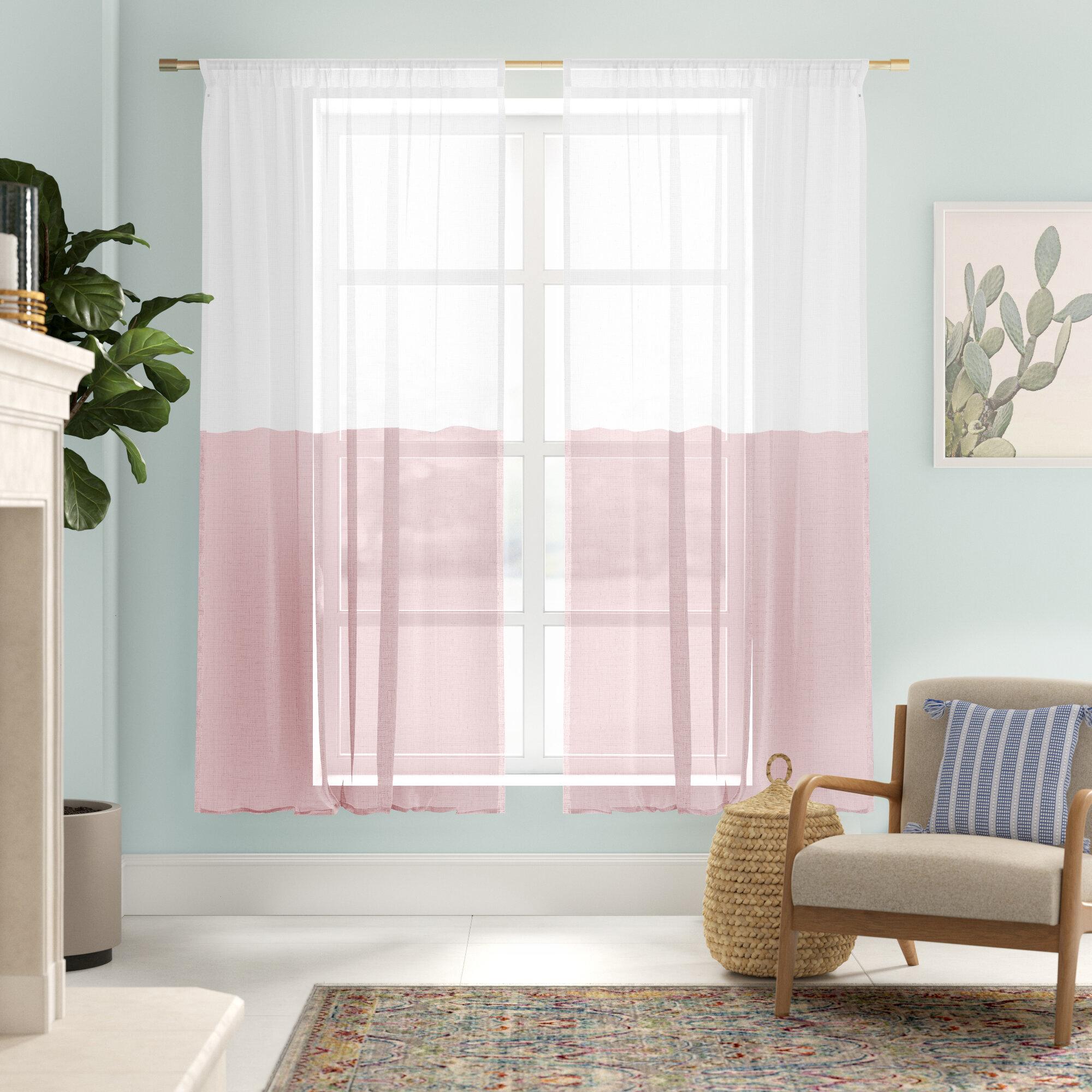 Renfro Linen Room Darkening Rod Pocket Single Curtain Panel Reviews Allmodern