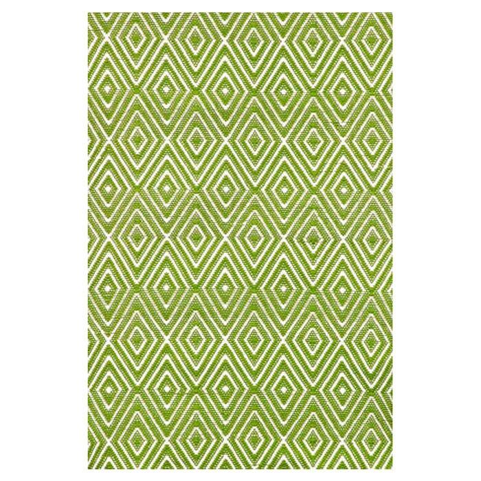 Dash and Albert Rugs Hand Woven Green Indoor/Outdoor Area Rug
