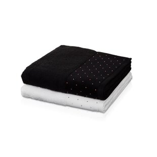 Mahle Swarovski Crystal 100% Cotton Bath Towel