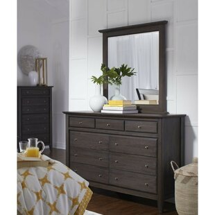 Rose 9 Drawer Double Dresser by Canora Grey Purchase