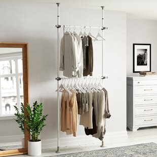 Swick 120m Wide Clothes Storage System By Wayfair Basics