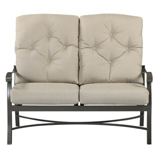 Darby Home Co Mctaggart Sunbrella Loveseat with Cushions