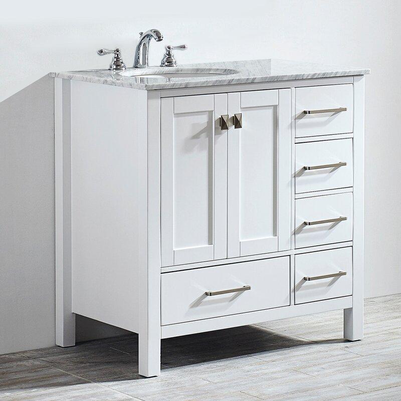 Beachcrest Home Newtown 36 Single Bathroom Vanity Set Reviews Wayfair