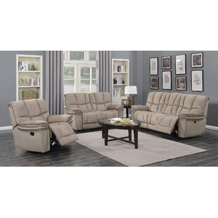 Coen Reclining Configurable Living Room Set by Red Barrel Studio Great price