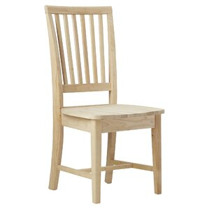 Toby Solid Wood Dining Chair (Set of 2) by Augus..