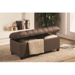 Charlton Home Longfellow Upholstered Storage Bench