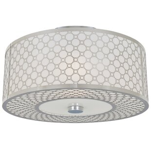 Willa Arlo Interiors Dunlap Light Semi Flush Mount