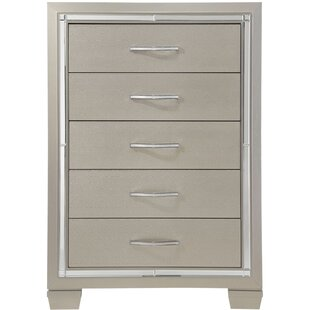 Rosdorf Park Domenick 5-Drawer Standard Chest
