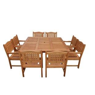 Eades 9 Piece Dining Set