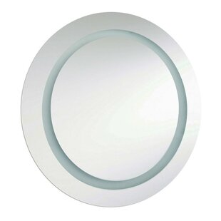 Read Reviews Melbany 2 Light Bathroom/Vanity Mirror By Radionic Hi Tech