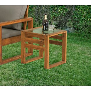 Luzerne Wooden Side Table Image