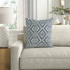 The Pillow Collection Ulla Geometric Bedding Sham Brown Standard//20 x 26,