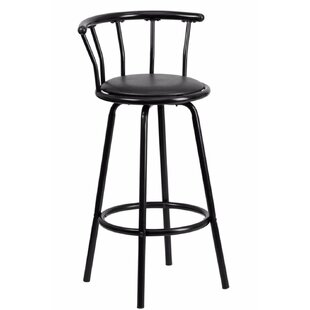Buy clear Ace 30 Bar Stool by Ebern Designs Reviews (2019) & Buyer's Guide