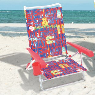 Lay Flat Reclining Beach Chair by Margaritaville