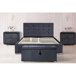 Review Maci Upholstered Bed