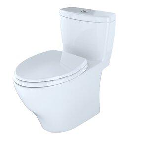 Toto Aquia Dual-Flush Elongated One-Piece..