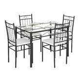 Oriskany 5 Piece Dining Set