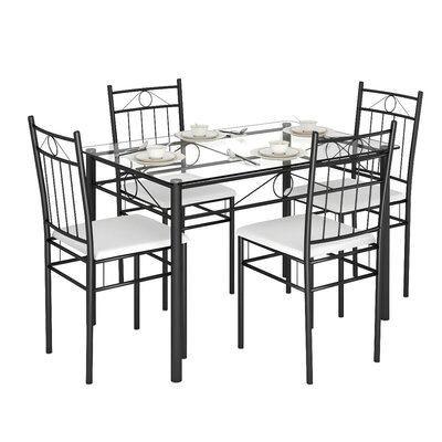 Oriskany 5 Piece Dining Set by Winston Porter Find