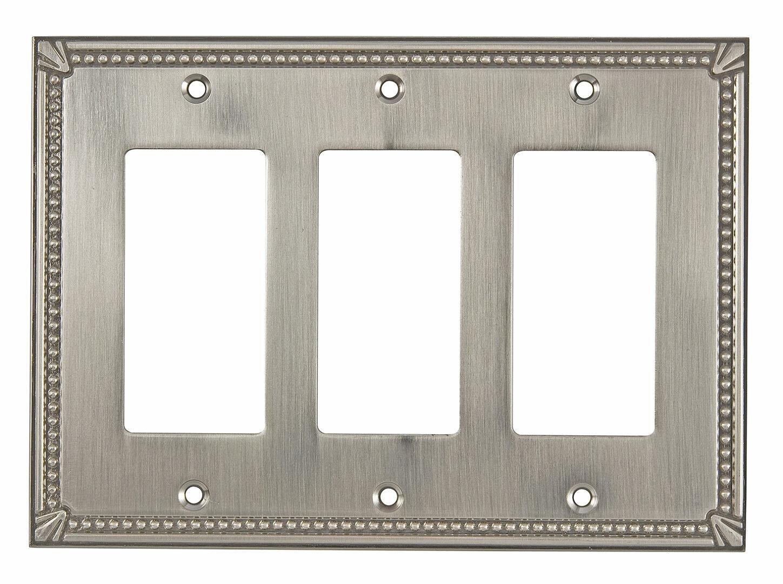Richelieu Decora Triple Switch Plate