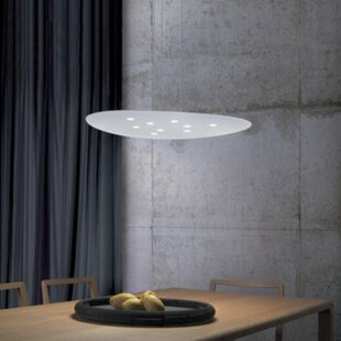 Scudo 9-Light Geometric Chandelier by ZANEEN design