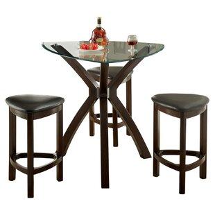 Hokku Designs 4 Piece Counter Height Dining Set