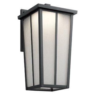 Inglesbatch LED Outdoor Wall Lantern by Brayden Studio