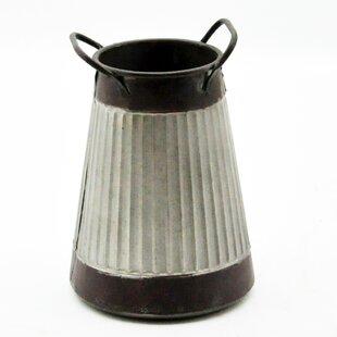 Great Deals Emile Metal Plant Pot