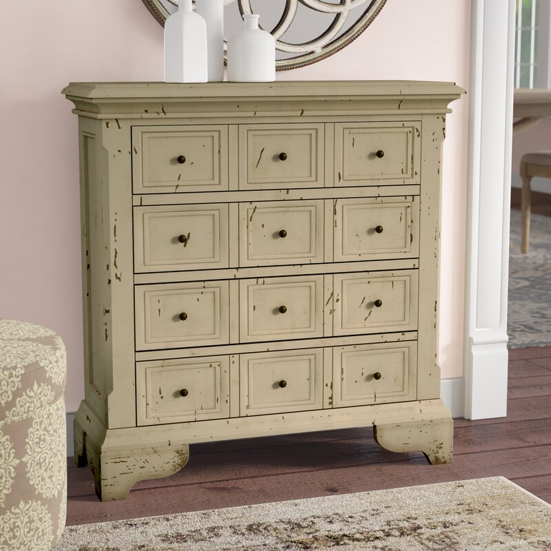Alycia 4 Drawer Accent Chest