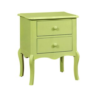 Floressa 2 Drawer Nightstand