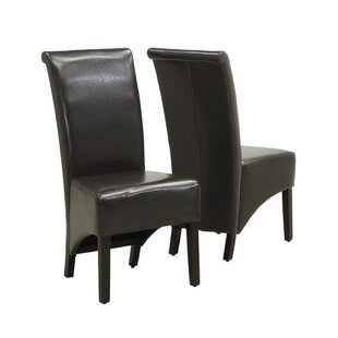 Upholstered Dining Chair (Set of 2) by Monarch Specialties Inc.