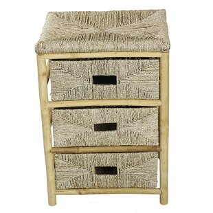 Elmira Bamboo 3 DrawerAccent Chest by Bay Isle Home