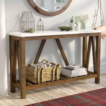 Amazing Breakwater Bay Eowyn Console Table Wayfair Dailytribune Chair Design For Home Dailytribuneorg