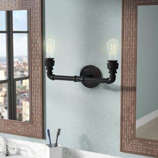 Affordable Price Celeste 2-Light Vanity Light By Trent Austin Design