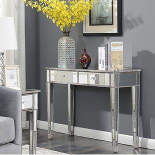Small Mirrored Vanity Table | Wayfair