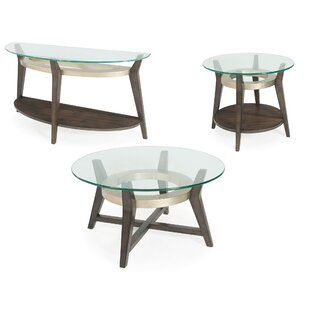 Brayden Studio Wroblewski 3 Piece Coffee Table Set