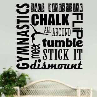 Gymnastics Sports Wall Decal