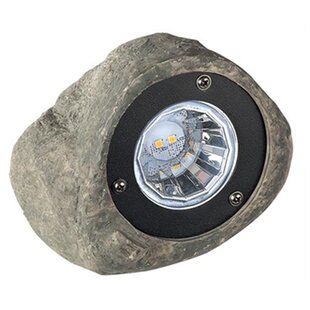 Read Reviews Rock 1 Light LED Spot Light By Paradise Garden Lighting