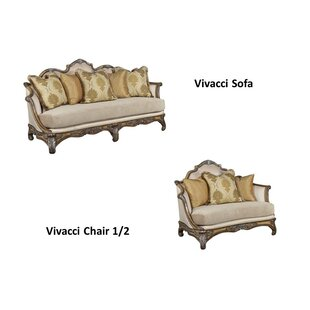 Vivacci 2 Piece Living Room Set By Benetti's Italia