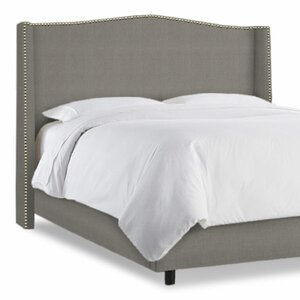 Elvire Upholstered Wingback Headboard by Willa Arlo Interiors