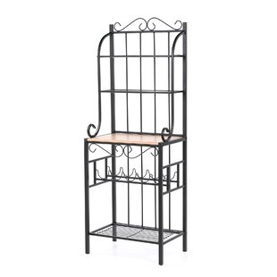 Alcott Hill Fysher Steel Baker's Rack