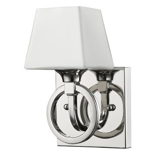 Best Reviews Ramires 1-Light Bath Sconce By Charlton Home