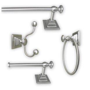 Madison 4 Piece Bathroom Hardware Set by Jollen Home Creation