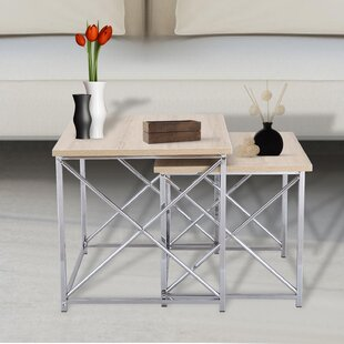 Merlin 2 Piece Nesting Tables