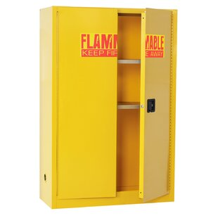 65 H x 43 W x 18 D Flammable Safety Cabinet by Sandusky Cabinets