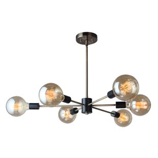 Woodbridge Lighting Ethan 6-Light Sputnik Chandelier