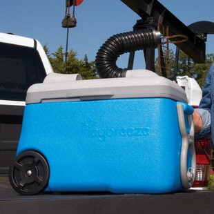 38 Qt. Portable Air Conditioner & Cooler Whiteout